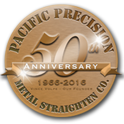 Welcome to Pacific Precision Metal Straighten